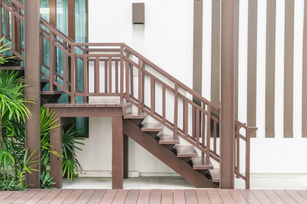 Stopnice lesene